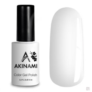 Akinami Color Gel Polish White ACG001