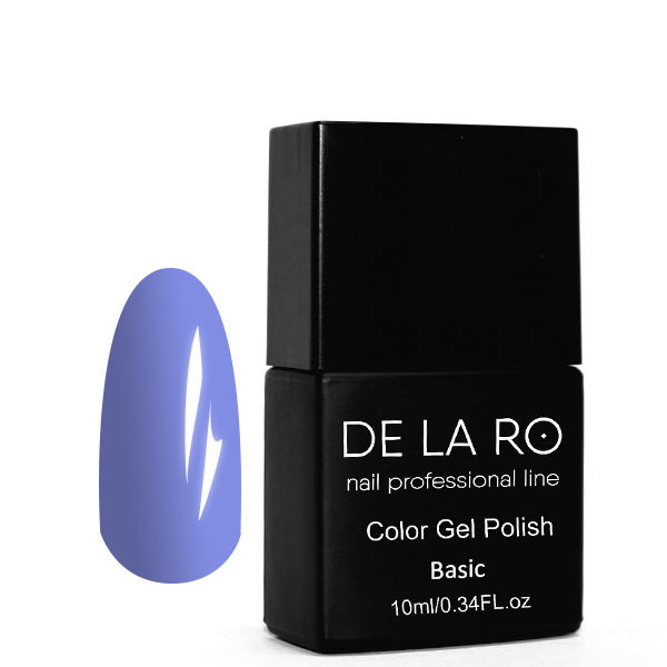 Гель-лак DeLaRo Color Gel Polish - тон BASIC 105