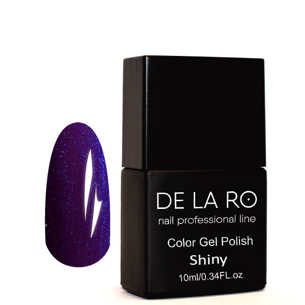 Гель-лак DeLaRo Color Gel Polish- тон Shiny 09