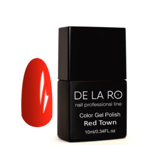 Гель-лак DeLaRo Color Gel Polish-тон Town Red 01