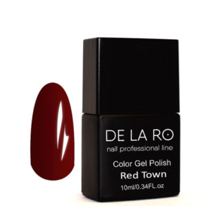 Гель-лак DeLaRo Color Gel Polish-тон Town Red 10