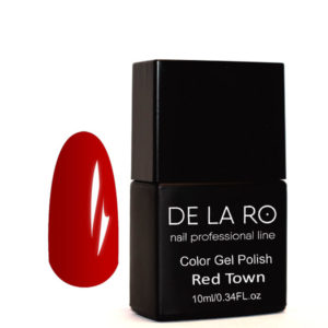 Гель-лак DeLaRo Color Gel Polish-тон Town Red 03