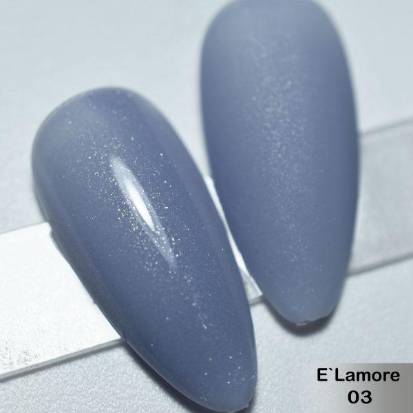 Гель-лак DeLaRo Color Gel Polish- тон E`Lamore 03