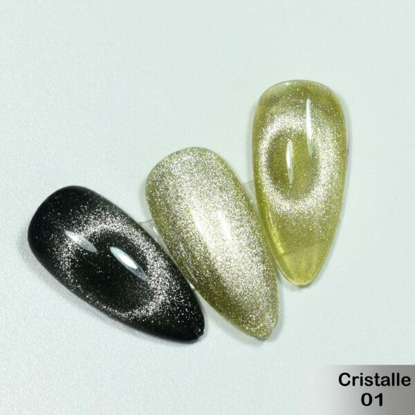 Гель-лак DeLaRo Color Gel Polish- тон Cristalle 01