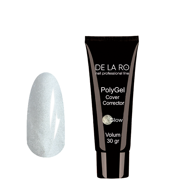 Полигель PolyGel Glow DeLaRo , 30 гр