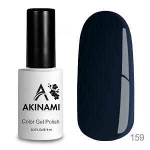 Akinami Color Gel Polish тон 159 Noir