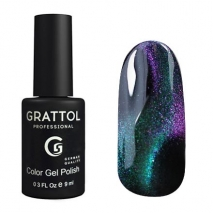 Гель-лак Grattol LS- 9d Cat Eye 02 new
