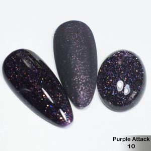 Гель-лак DeLaRo Color Gel Polish — тон Purple Attack 10