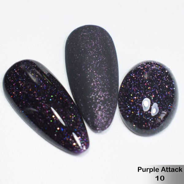 Гель-лак DeLaRo Color Gel Polish — тон Purple Attack 10