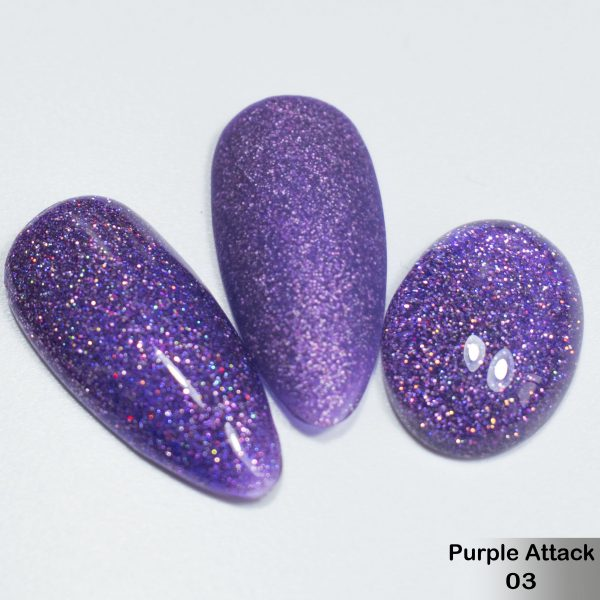 Гель-лак DeLaRo Color Gel Polish — тон Purple Attack 03