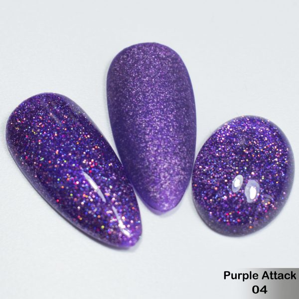 Гель-лак DeLaRo Color Gel Polish — тон Purple Attack 04