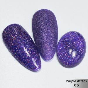 Гель-лак DeLaRo Color Gel Polish — тон Purple Attack 05