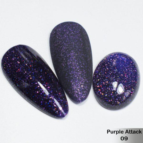 Гель-лак DeLaRo Color Gel Polish — тон Purple Attack 09