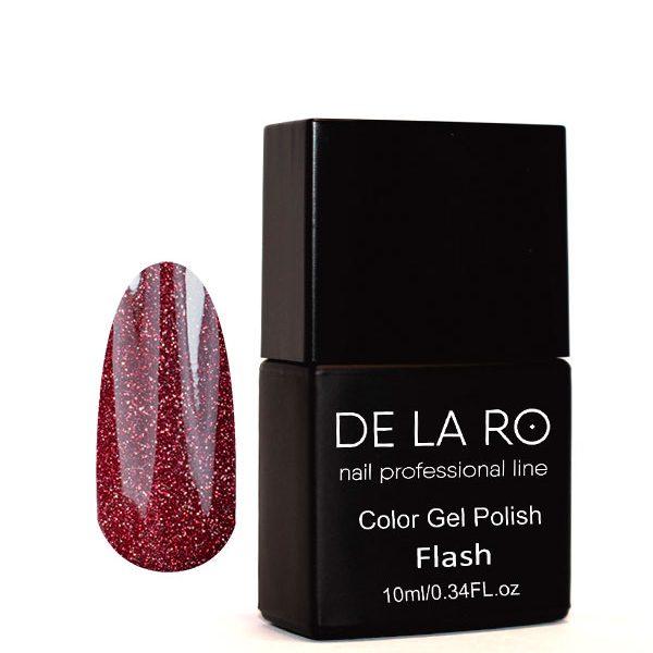 Гель-лак DeLaRo Color Gel Polish- тон FLASH 09