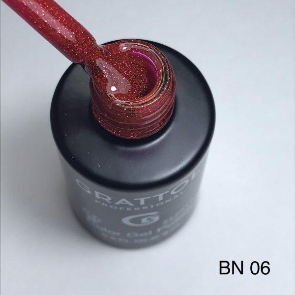 Гель-лак Grattol LS Bright Neon 06 (светоотражающий)