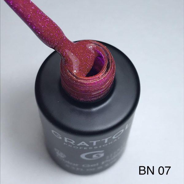 Гель-лак Grattol LS Bright Neon 07 (светоотражающий)