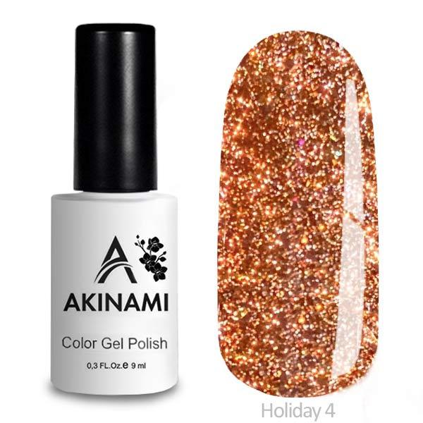 Akinami Color Gel Polish Holiday — 04