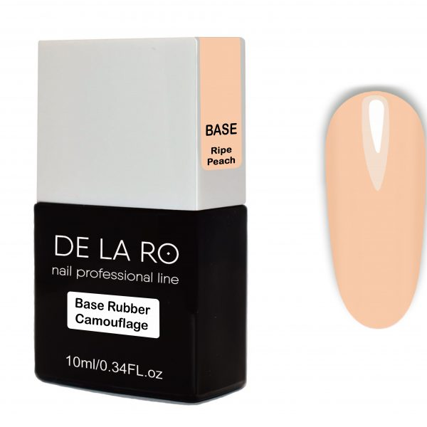 Base Rubber Camouflage Ripe Peach DeLaRo 10 мл