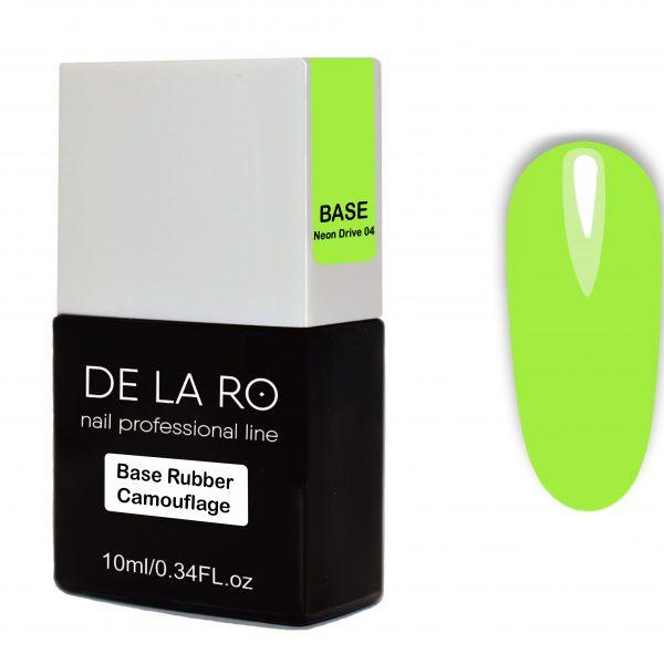 Base Rubber Camouflage Neon Drive 04 DeLaRo 10 мл