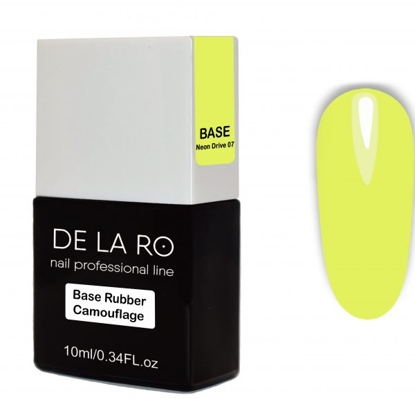 Base Rubber Camouflage Neon Drive 07 DeLaRo 10 мл