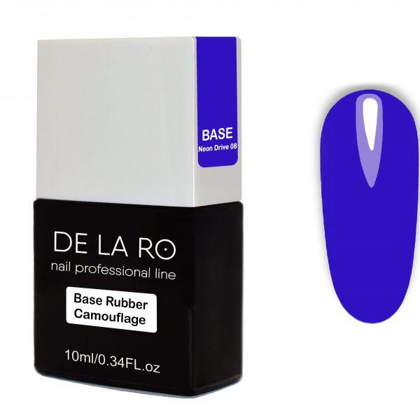 Base Rubber Camouflage Neon Drive 08 DeLaRo 10 мл