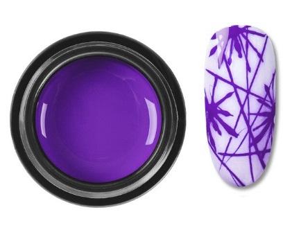 DeLaRo гель-паутинка фиолетовая 7 gr