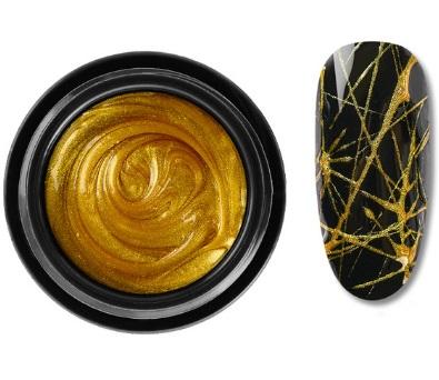 DeLaRo гель-паутинка золотая 7 gr